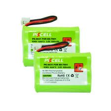 2x Ni-Mh 800mAh Cordless Home Battery For V-Tech 89-1323-00-00 27910 SD-7501