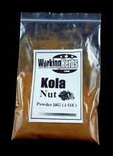 Kola Nut powder natural caffeine alternative 1 oz bag cola nut