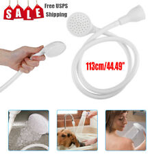 Portable Shower Spray Hose Bath Tub Sink Faucet Attachment Washing Shower Head