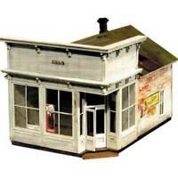 BANTA 2081 HO HON3 SILVER PLUME BAKERY Railroad Building Wood Kit FREE SHIP