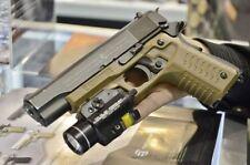 Recover Tactical Ergonomic Grip & Rail System for 1911 Pistols Desert TAN