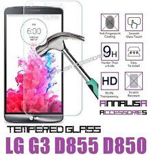 PELLICOLA IN VETRO TEMPERATO PER LG G3 D855 D850 TEMPERED GLASS SCREEN PROTECTOR