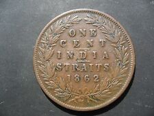 Straits Settlements - British India Government - 1 Cent 1862.