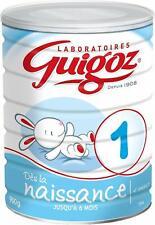 GUIGOZ 1 Dès la naissance - Lait bébé 1er âge en poudre de 0 à 6 mois - Boîte de
