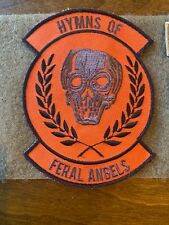 Triple aught Design TAD Gear RARE Scott Campbell Hymns Of Feral Angels Patch