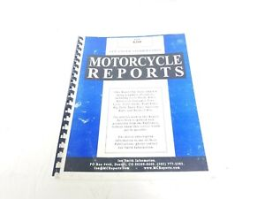 1985 BMW K100 RT RS Motorcycle Reports Report