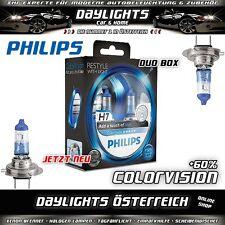 Philips H7 Color Vision ColorVision Blue +60% Duobox Halogen Lampe