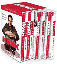 Monk:The Complete Series(DVD, 2016, 32-Disc Set) Seasons 1-8