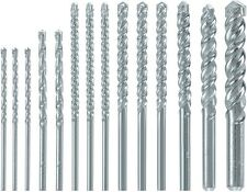 Skil Round Rotary Carbide Tip Double Flute General Masonry Bits Drill Bit Set