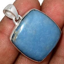 Angelite - Peru 925 Sterling Silver Pendant Jewelry AP149786