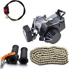 47CC 49CC 2-STROKE ENGINE MOTOR POCKET MINI BIKE SCOOTER ATV + Chain + Throttle