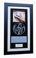 KORN Debut+1st CLASSIC CD Album GALLERY QUALITY FRAMED+EXPRESS GLOBAL SHIPPING +