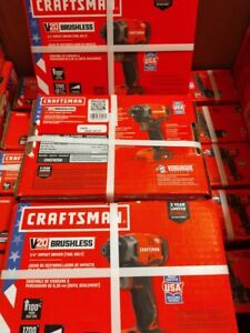 """CRAFTSMAN CMCF820B 20V 1/4"""" IMPACT DRIVER 1700IN/LBS BARE TOOL"""