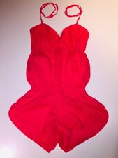 G by Guess Women's Size L Red Romper