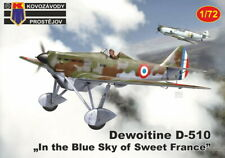 Kp Models 1/72 Dewoitine D.510 French Air Force Fighter