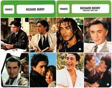 FICHE CINEMA x2 : RICHARD BERRY - France (Biographie/Filmographie)