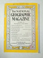 Vintage National Geographic 1940s Magazine War Era Issue #4 October 1942 Coke Ad