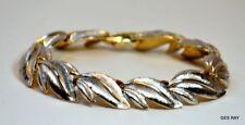 Kramer Vintage Gold & Silver Tone Bracelet  Costume Jewelry