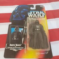 KENNER STAR WARS VINTAGE POWER OF THE FORCE DARTH VADER CAPE ACTION FIGURE