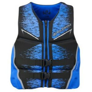 Kent Sporting Goods Co 142500-500-050-19 Full Throttle Life Vest Mens XL Blue