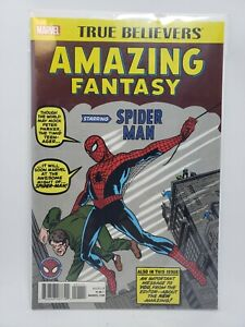 Amazing Fantasy #15 Marvel True Believers REPRINT New Unread Free Shipping