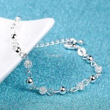 Donne gioielli regalo 925 Sterling Silver catena bracciale Bracciale SA88 01
