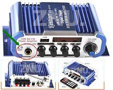 12V Digital Mini 2CH HIFI Audio Stereo Amplifier AMP FM MIC ipod MP3 Car Home