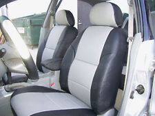 CHEVY CAVALIER SEDAN 1999-2002 IGGEE S.LEATHER CUSTOM FIT SEAT COVER 13COLORS