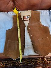 Vintage TrailMaster Split Cowhide Vest