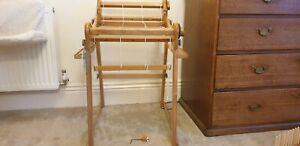 """Ashford 16"""" rigid heddle loom, floor stand, 5 heddles/reeds etc, great condition"""