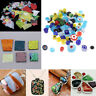 3Set Jewelers Scrap Dichroic Glass 28g COE 90 Fusible Glass DIY Earring Pendants