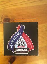 Adnams Broadside / Wadworth JcB beer pump clip label