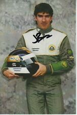 JULIAN BAILEY HAND SIGNED 6X4 PHOTO LOTUS FORMULA 1 AUTOGRAPH 1.