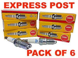NGK SPARK PLUGS SET BPR5EY-11 X 6 - FORD FALCON AU EF EL XH LANDCRUISER FJ80