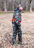 Deluxe Deer Drag w/ Adjustable Over the Shoulder Cross Body Harness Blaze Orange