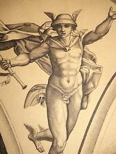 M.Antonio RAIMONDI (1480-1527) GRAVURE XVI MERCURE ITALIE BOLOGNA AMAND DURAND
