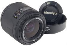 MAMIYA AF 55mm 2.8 + Hood - 645 -