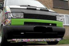 VW T4 90-03 WIDE front bumper spoiler chin lip addon valance trim cup splitter