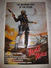 """MAD MAX 1979 Original SS 27x41"""" US One Sheet Movie Poster M Gibson George Miller"""