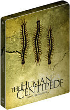 The Human Centipede Trilogy - Limited Edition Steelbook (Blu-ray) BRAND NEW!!