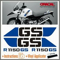 4x R 1150 GS Black/Blue BMW ADVENTURE ADESIVI PEGATINA R1150 AUTOCOLLANT