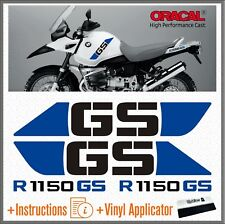 4x R 1150 GS Black/Blue BMW ADVENTURE ADHESIVOS PEGATINA R1150 AUTOCOLLANT