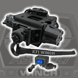 KFI 3500 Assault Synth. Plug-N-Play Winch '15-'20 Polaris Sportsman 570 1000 850