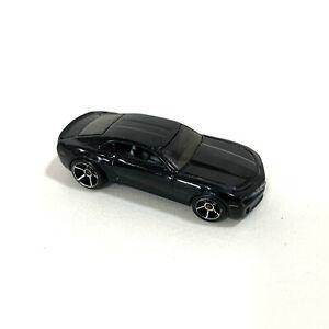 HOT WHEELS Chevy Camaro Concept Black Mattel Loose - AUS SELLER