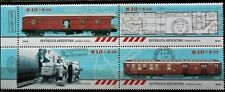 ARGENTINA: Railway Post Offices / Wagons - Trains (2016) MNH Strip