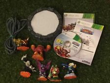 SKYLANDERS GIANTS XBOX 360 GAME +POWER PORTAL +6 FIGURE BUNDLE TERRAFIN ERUPTOR
