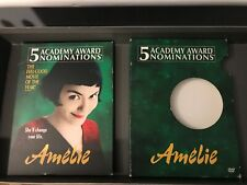 Amelie rare 2 disc French Comedy dvd Audrey Tautuo 5x Academy Nominated