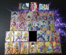 Lot 48 cartes Dragon Ball Z Collection Card Gum Prism DBZ GT Super cards set