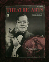 THEATRE ARTS July 1957 Cyril Ritchard Jean Anouilh Howard Lindsay Russel Crouse