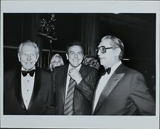 Ralph Bellamy, Mike Connors, Robt Mitchum ORIGINAL PHOTO HOLLYWOOD Candid